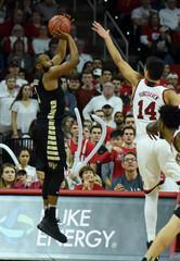 NCAA Basketball: Wake Forest at North Carolina State