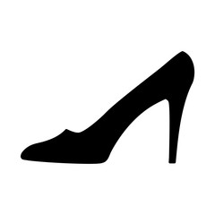 Women shoe black sign 10.09