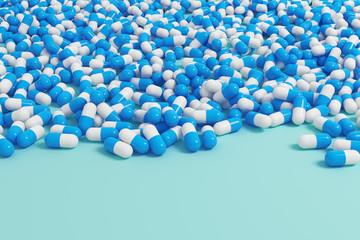 Blue capsule wallpaper