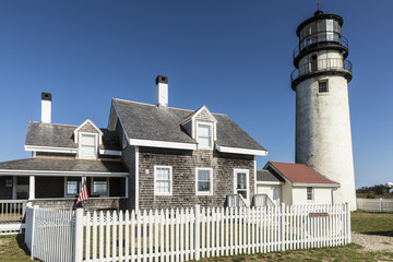 The Highland Light, also known as the Cape Cod Light is one of the tallest and oldest lighthouses on Cape Cod