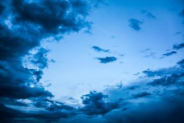 Evening Sky Background