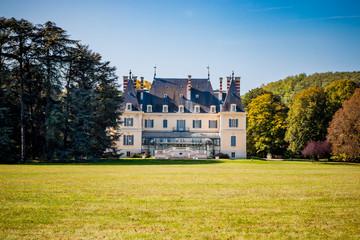 Le parc et le château de Rajat