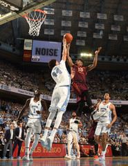 NCAA Basketball: Virginia Tech at North Carolina