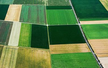 Landwirtschaftlich genutzte Flächen in Nordrhein-Westfalen, bei der Ortschaft Hausen, Viersen