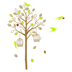 木と鳥 Casual