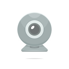 Webcam icon vector isolated illustration