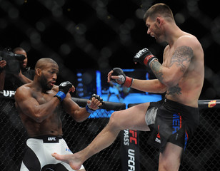 MMA: UFC Fight Night-Means vs Howard