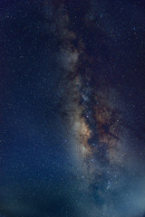 Vertical Milky way