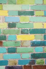 colour wall.