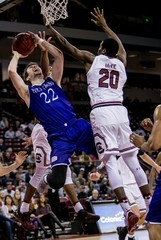 NCAA Basketball: Holy Cross at South Carolina