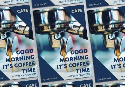 Coffee Café Flyer Layout 1