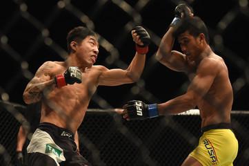 MMA: UFC Fight Night-Zhikui vs Lausa