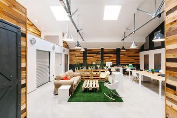 Modern Trendy Coworking Office
