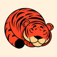 Tiger vector icon