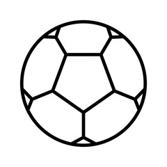 outline of a ball