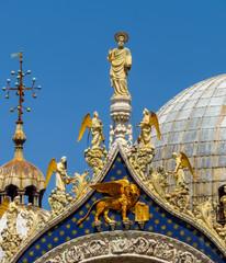 Wall Mural - Venice - Basilica di San Marco - Closeup