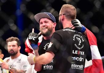 MMA: UFC Fight Night-Zaleski vs Dalby