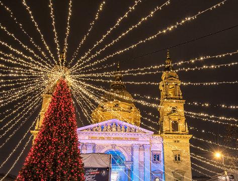 Christmas Fair in Budapest