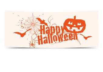 Happy Halloween - Banner Schild
