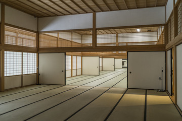 Traditional Japanese tatami room