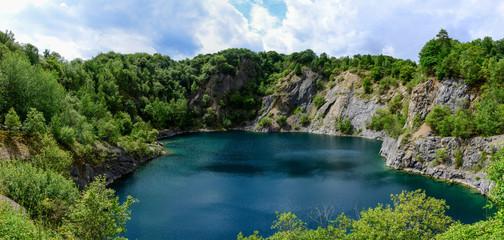 Steinbruch, See, Natur