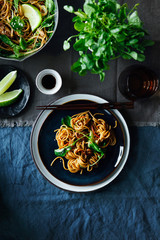 Chow main dish