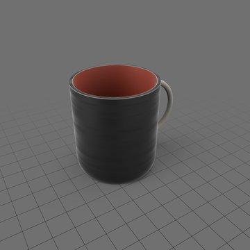 Plastic coffee mug