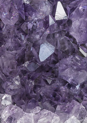 Close up of amethyst