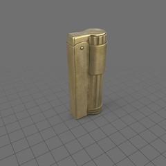 Brass metal lighter