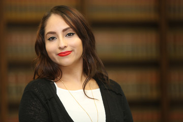Portrait of a multi ethnic professional woman, woman lawyer