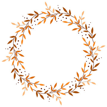 Autumn & Halloween wreath