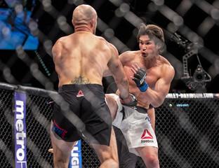 MMA: UFC Fight Night-Burkman vs Noons