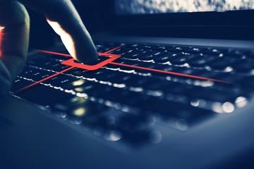 Keylogger Computer Spy - fototapety na wymiar