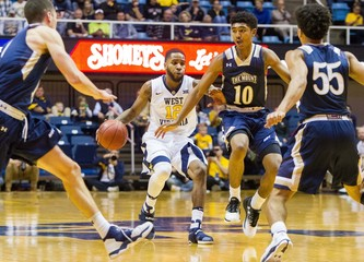 NCAA Basketball: Mount St. Mary's at West Virginia