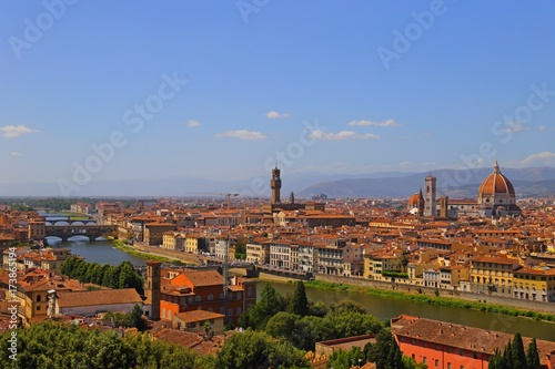 """Italian Florence: """"Beautiful View Of Florence From Piazzale Michelangelo"""