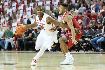 NCAA Basketball: Alabama at Arkansas