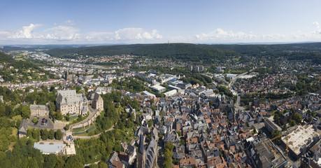 Old town of Marburg, Germany