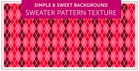 Sweater pattern texture Simple & Sweet Background vol.11