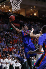 NCAA Basketball: Florida at Miami