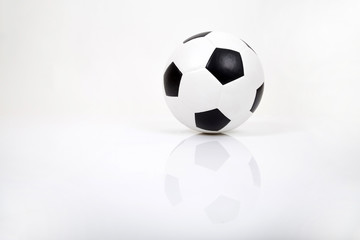 Soccer or football. Isolated on a White Background.