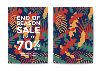 Nature Sale poster and flyer design