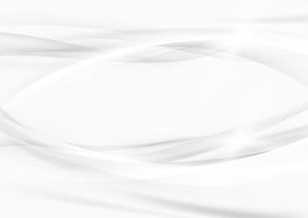 Grey graphic beautiful elegant swoosh lines modern background