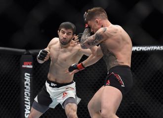 MMA: UFC Fight Night-Parke vs Khabilov