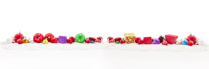 Geschenke zu Weihnachten als Hintergrund