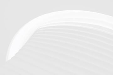 白い円弧の抽象テクスチャ背景