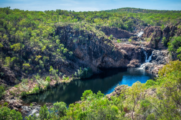 Bernang Lookout at Edith Falls, Nitmiluk National Park, Katherine, Australia.