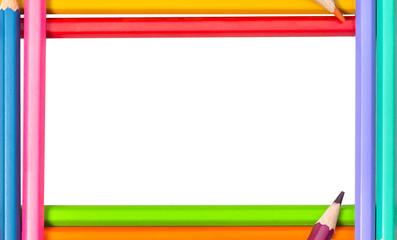 Border frame color pencil