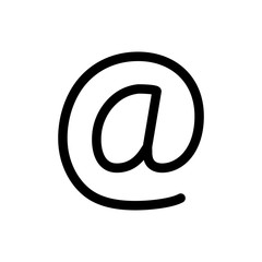 Email Vector Icon. Editable Stroke. 256x256 Pixel Perfect