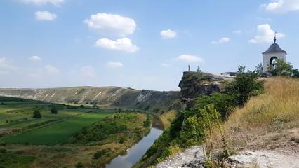 Old Orhei on Raut river, Moldova