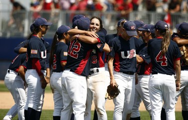 Pan Am Games: Women's Baseball-Canada vs United States